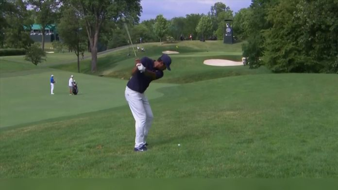 Tony Finau en tête, Tiger Woods à