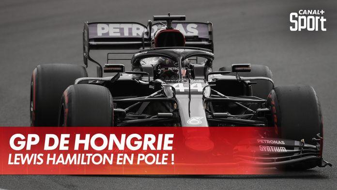 Lewis Hamilton en pole au GP de Ho