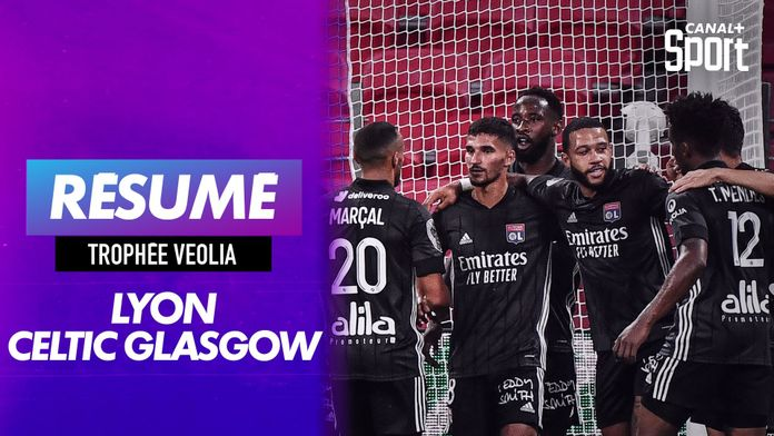 Les buts de Lyon - Celtic Glasgow
