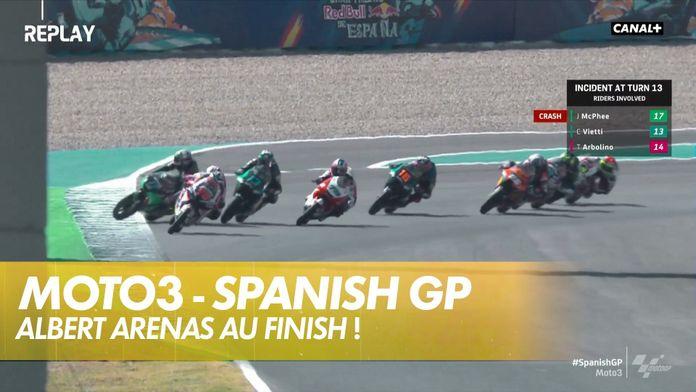 Albert Arenas au finish !