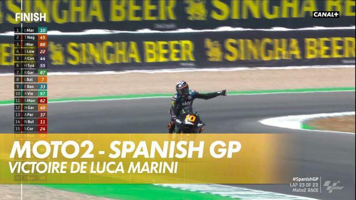 La victoire pour Luca Marini