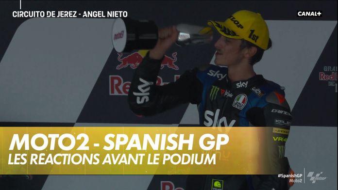Le podium de la course