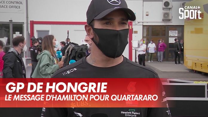 Le message de Lewis Hamilton pour
