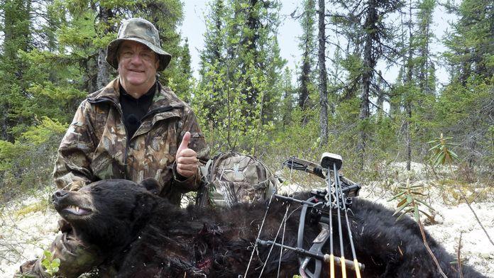 De l'arc... à l'ours noir