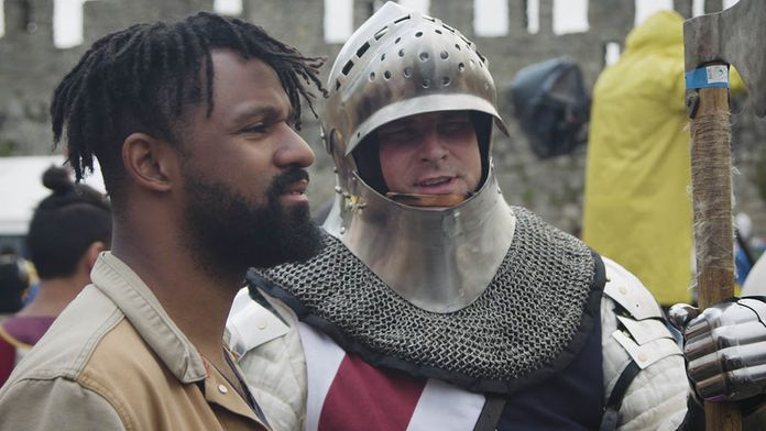 MMA en armure médiévale