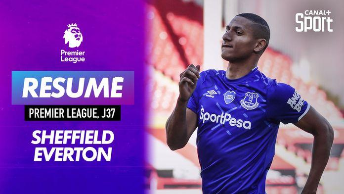 Le résumé de Sheffield - Everton e