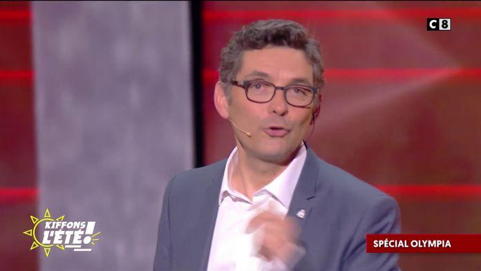 Spécial Olympia : Thierry Moreau réalise son premier sketch