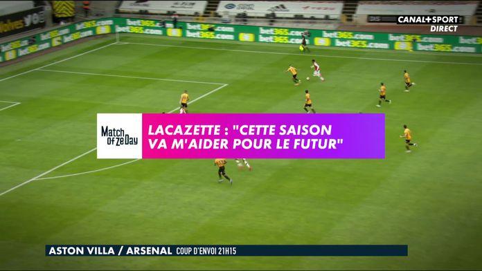 Entretien exclusif avec Alexandre Lacazette : Premier League