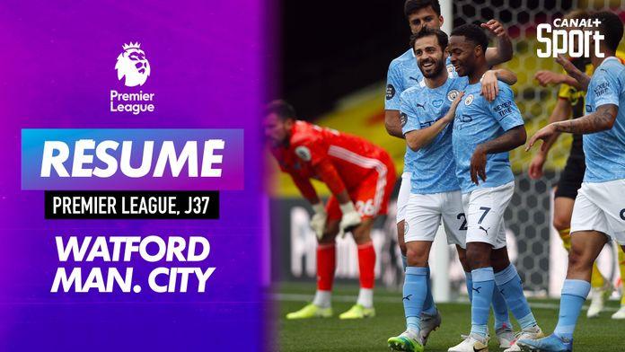 Les buts de Watford / Manchester City : Premier League