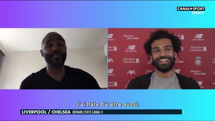 Mo Salah parle du titre avec Florent Sinama-Pongolle : Premier League