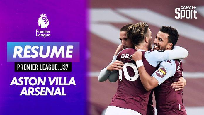 Le résumé d'Aston Villa - Arsenal en VO : Premier League