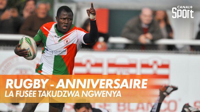 La fusée Takudzwa Ngwenya : Rugby - Retro - Anniversaire