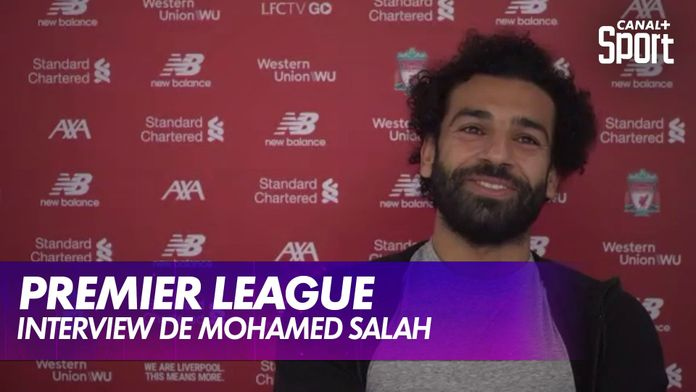 Interview exclusive de Mohamed Salah : Premier League