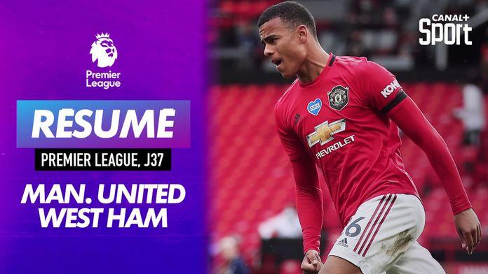 Les buts de Manchester United - West Ham : Premier League