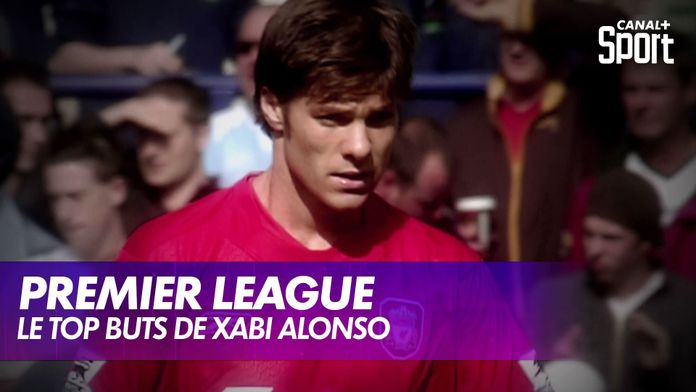 Le top buts de Xabi Alonso en Premier League : Premier League
