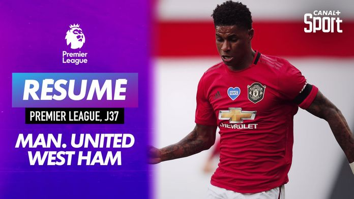 Le résumé de Manchester United - West Ham en VO : Premier League