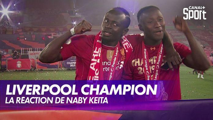 "La réaction de Naby Keita, le ""Iniesta guinéen"" : Premier League"