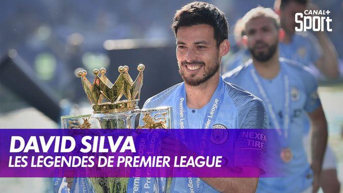 Les légendes de Premier League : David Silva : Premier League