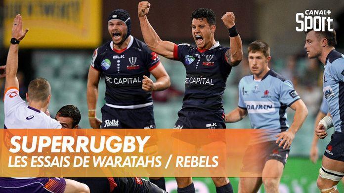 Les essais de Waratahs / Rebels : SuperRugby