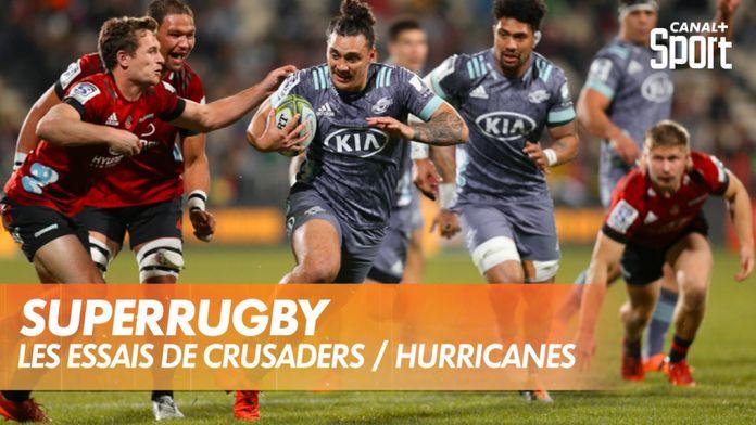 Les essais de Crusaders / Hurricanes : SuperRugby
