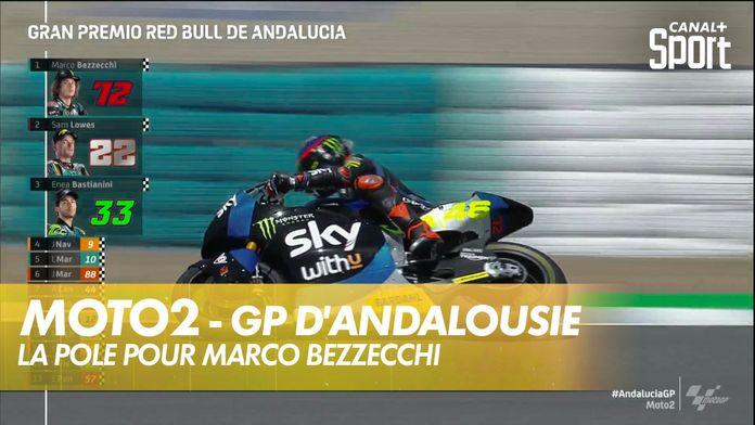 La pole pour Marco Bezzecchi : Moto2