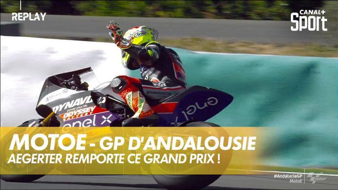 Dominique Aegerter remporte ce Grand Prix ! : MotoE