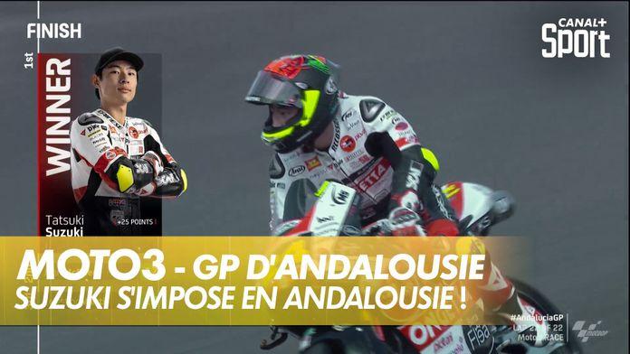Suzuki s'impose en Andalousie ! : Moto3