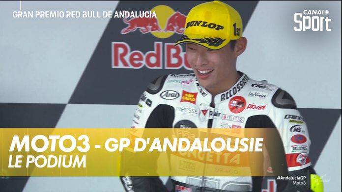 Le podium de Moto3 en Andalousie ! : Moto3