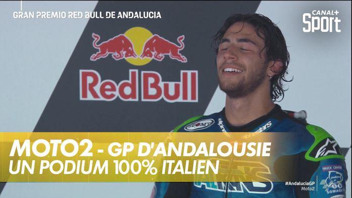 Un podium 100% italien : Moto2