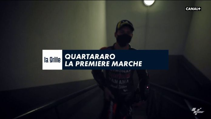 Quartararo la première marche : MotoGP