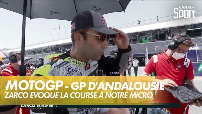 Johann Zarco évoque la course à notre micro : MotoGP