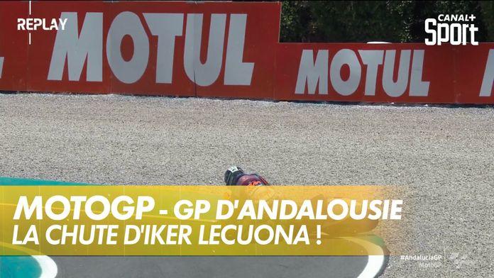 La chute d'Iker Lecuona : MotoGP