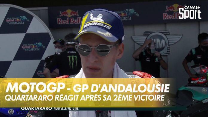 Fabio Quartararo réagit après sa 2ème victoire : MotoGP