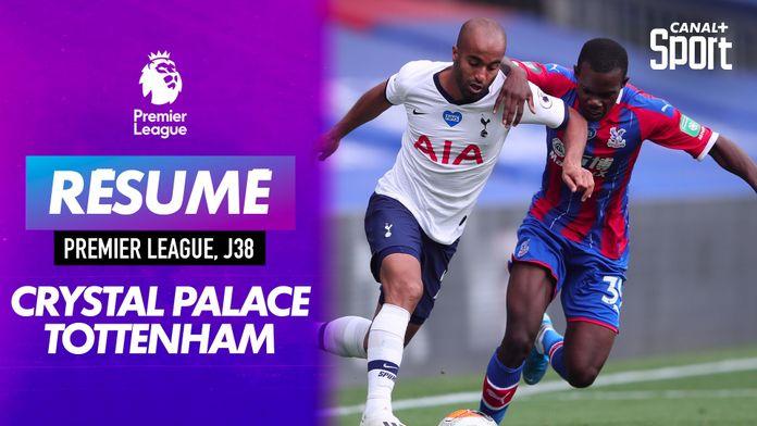 Le résumé de Crystal Palace / Tottenham : Premier League
