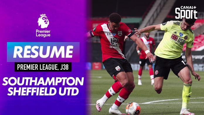 Les buts de Southampton / Sheffield United : Premier League