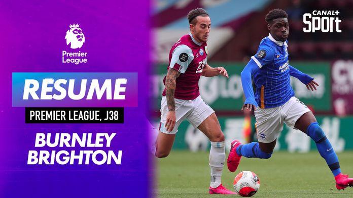 Les buts de Burnley / Brighton : Premier League