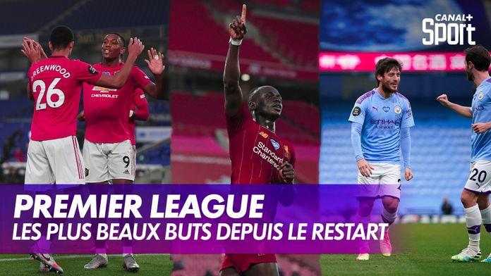 Les plus beaux buts en Premier League depuis le restart : Premier League