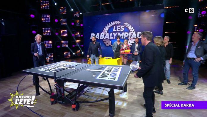 Spécial Darka : Une compétition de ping-pong pendant les Babalympiades