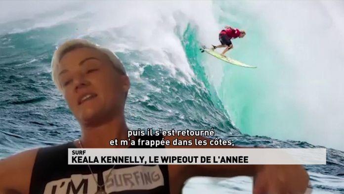 Keala Kennelly, le wipeout de l'année : Surf
