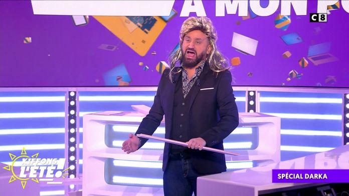 Spécial Darka : Cyril Hanouna souhaite un joyeux anniversaire à Chuck Norris