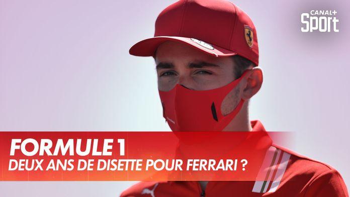 Ferrari : pas de victoire jusqu'en 2022 ? : Formue 1