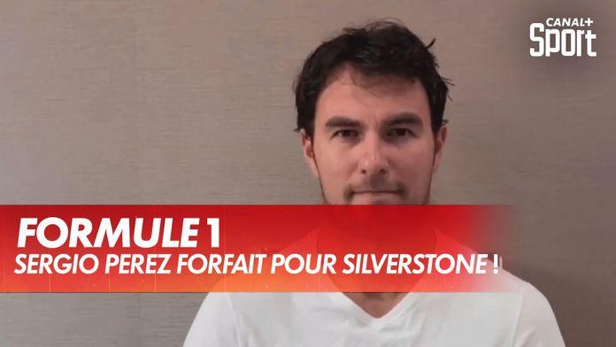Sergio Perez forfait pour le GP de Grande-Bretagne ! : Formule 1