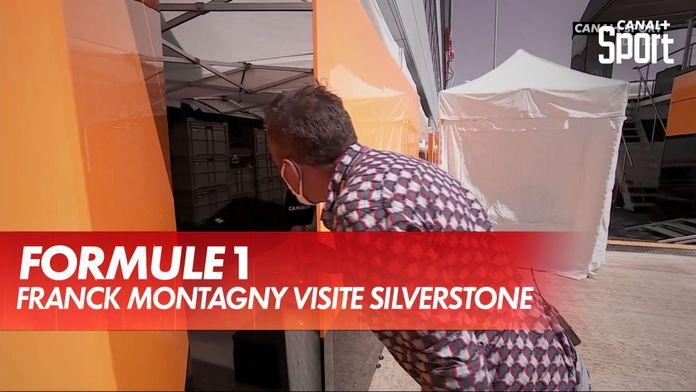 Visite du paddock de Silverstone par Franck Montagny : Formule 1
