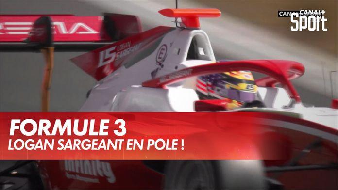 La pôle pour Logan Sargeant à Silverstone ! : Formule 3