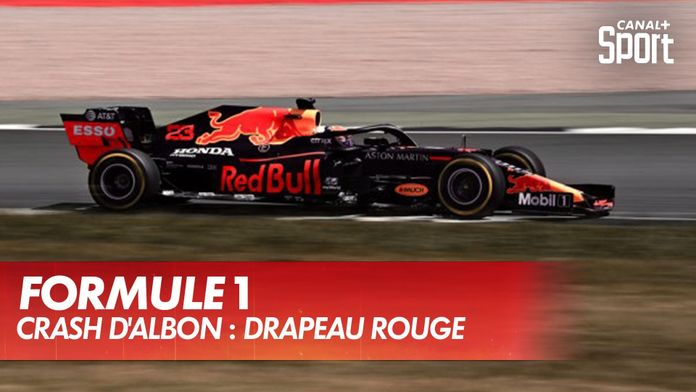 Crash d'Alex Albon : drapeau rouge : Formule 1