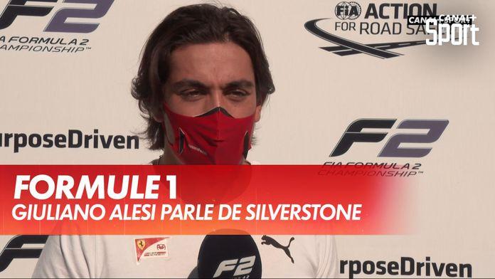 Giuliano Alesi, son histoire d'amour avec Silverstone : Formule 2