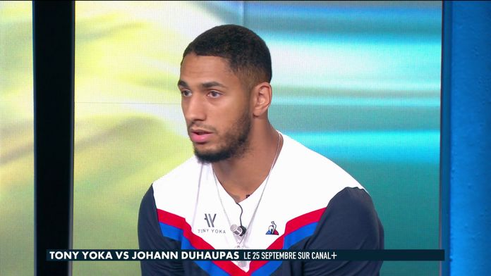 """Yoka : """"Les boxeurs français s'évitent entre eux"""" : Yoka / Duhaupas"""