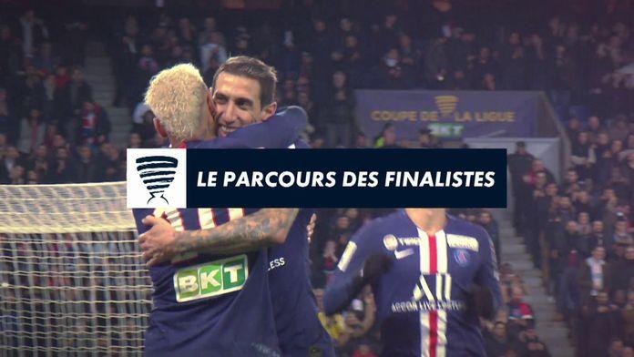 Le parcours des finalistes : Coupe de la Ligue BKT
