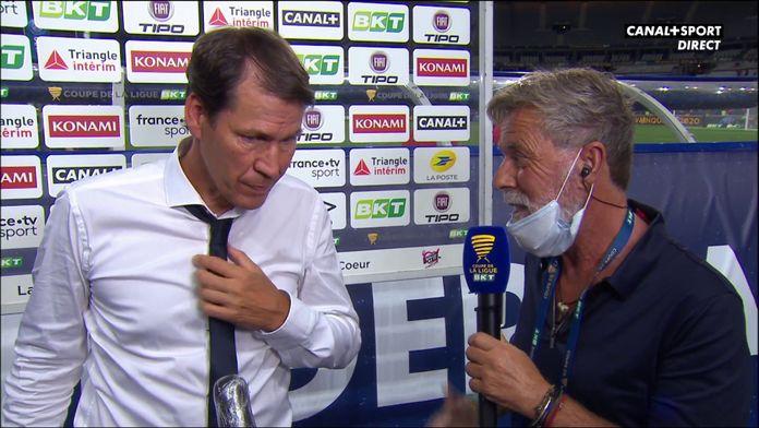 La réaction de Rudi Garcia après la finale PSG/OL : Coupe de la Ligue BKT