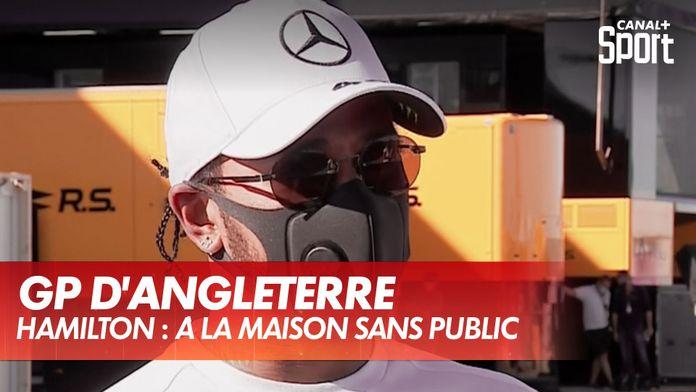 Hamilton : à la maison sans public : Formule 1